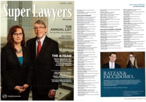Ratzan and Faccidomo Super Lawyers 2014